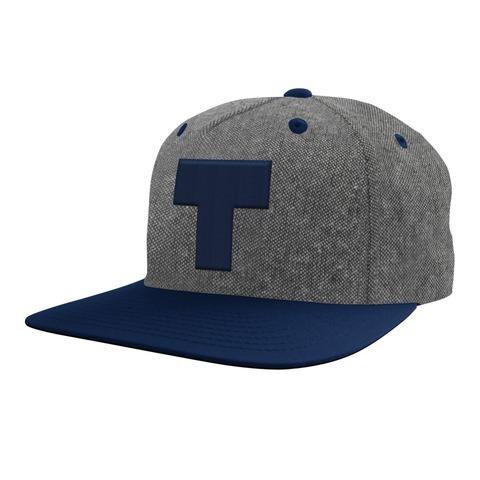 T Logo blau von Tim Bendzko - Cap jetzt im Tim Bendzko Shop